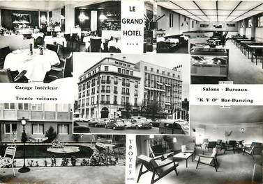 """CPSM FRANCE 10 """"Troyes, le Grand Hotel"""""""
