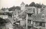 """64 PyrÉnÉe Atlantique / CPSM FRANCE 64 """"Salies de Béarn, vieilles maisons sur le Saleys"""""""