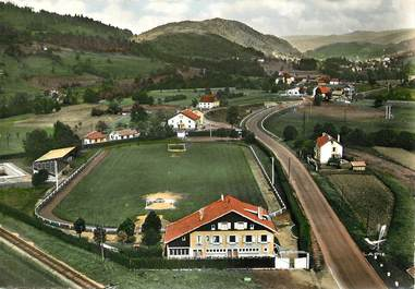 """CPSM FRANCE 88 """"Saint Maurice sur Moselle"""" / STADE"""