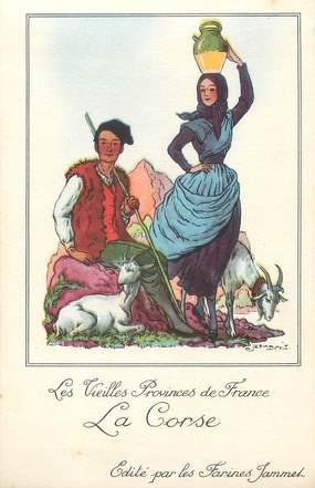 """/ CPA FRANCE 20 """"Les vieilles provinces de France, la Corse"""""""