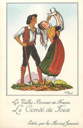 """/ CPA FRANCE 09 """"Les Vielles provinces de France, le comté de Foix"""""""