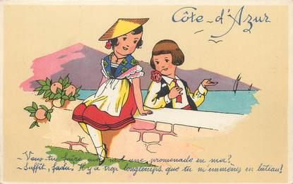 """/ CPA FRANCE 06 """" Côte d'Azur"""""""
