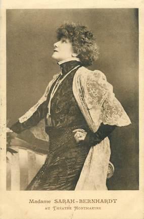 CPA  SARAH BERNHARDT, Théâtre Montmartre