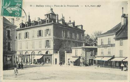 """/ CPA FRANCE 01 """"Belley, place de la Promenade"""""""