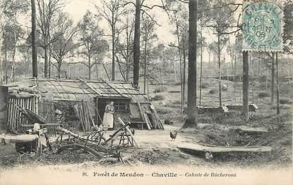 """/ CPA FRANCE 92 """"Chaville, cahute de Bûcherons"""""""