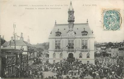 """/ CPA FRANCE 91 """"Corbeil, inauguration du nouvel hôtel de ville"""""""