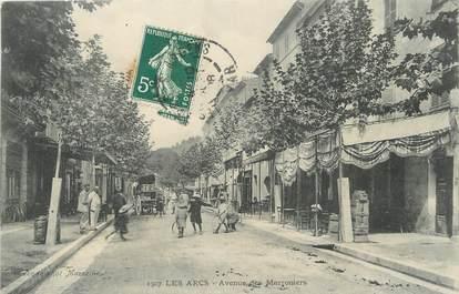 """/ CPA FRANCE 83 """"Les Arcs, avenue des Marroniers"""""""