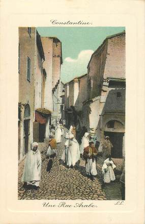 "CPA ALGERIE ""Constantine, une rue arabe"""