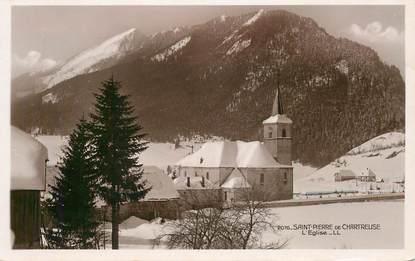 """CPA FRANCE 38 """"Saint Pierre de Chartreuse, L'Eglise"""""""
