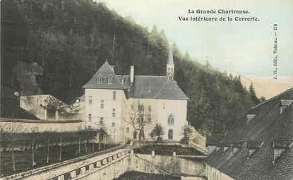 """CPA FRANCE 38 """"Saint Pierre de Chartreuse, vue intérieure de la Correrie"""""""