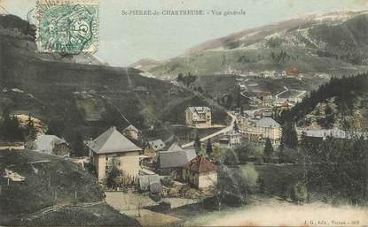 """CPA FRANCE 38 """"Saint Pierre de Chartreuse, vue   générale"""""""