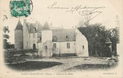 """/ CPA FRANCE 18 """"Saint Eloi de Gy, château de Dâme"""""""
