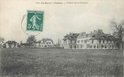 """/ CPA FRANCE 18 """"Lantan, château de La Chaule"""""""