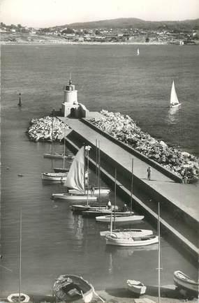 """CPSM FRANCE 83 """"Sanary sur Mer, la Jetée """""""