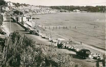 """CPSM FRANCE 83 """"Sanary sur Mer, la plage du Lido"""""""