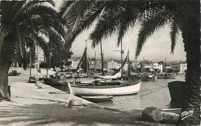 """CPSM FRANCE 83 """"Sanary sur Mer, un coin du port"""""""