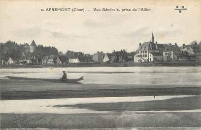 """/ CPA FRANCE 18 """"Apremont, vue générale"""""""
