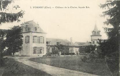"""/ CPA FRANCE 18 """"Vornay, château de la Chaise"""""""