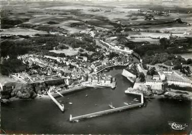 """CPSM FRANCE 56 """"Le palais Belle Ile, le Port et le Bassin"""""""