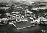 """56 Morbihan CPSM FRANCE 56 """"Le palais Belle Ile, le Port et le Bassin"""""""