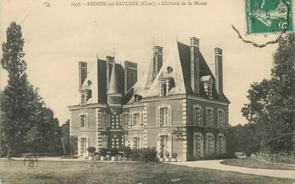 """/ CPA FRANCE 18 """"Brinon sur Sauldre, château de la Minée"""""""