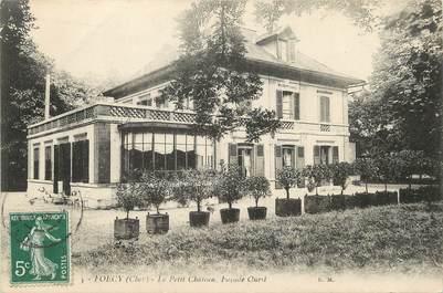"/ CPA FRANCE 18 ""Foëcy, le petiti château"""