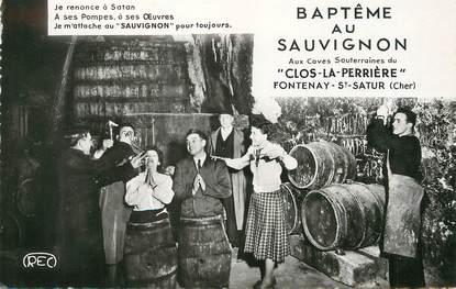 """/ CPSM FRANCE 18 """"Archambault, père et fils propriétaires Fontenay Saint Satur"""""""