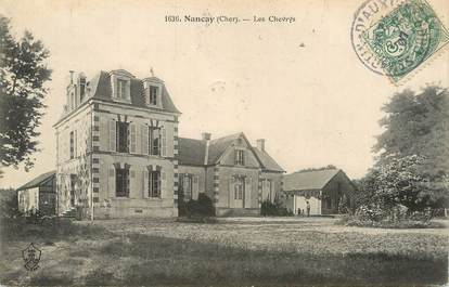 "/ CPA FRANCE 18 ""Nancay, les chevrys"""