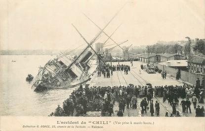 """/ CPA FRANCE 33 """"Bordeaux, l'accident du Chili"""""""