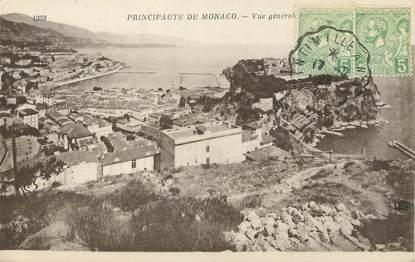 "/ CPA MONACO ""Principauté de Monaco, vue générale"""