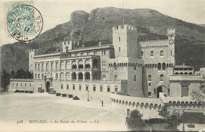 "/ CPA MONACO ""Monaco, le palais du Prince"""