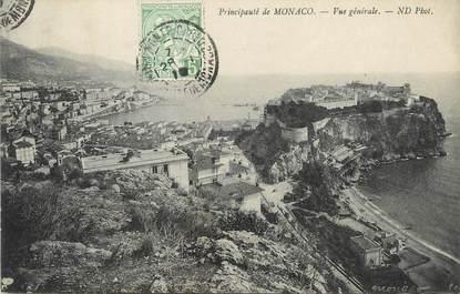 "/ CPA MONACO ""Principauté de Monaco, vue générale """