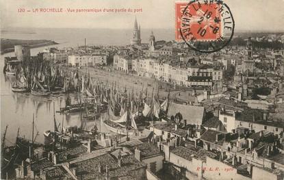 """/ CPA FRANCE 17 """"La Rochelle, vue panoramique d""""une partie du port"""""""