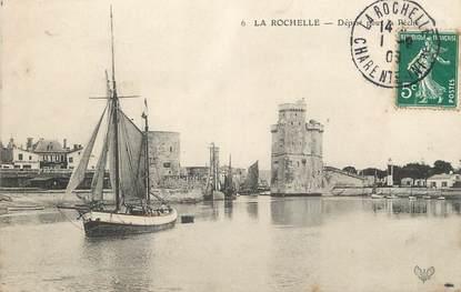 """/ CPA FRANCE 17 """"La Rochelle, départ pour la pêche"""""""