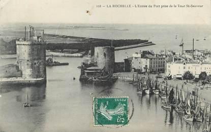 """/ CPA FRANCE 17 """"La Rochelle, l'entrée du port prise de la Tour Saint Sauveur"""""""