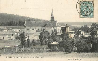 """/ CPA FRANCE 55 """"Benoit de Vaux, vue générale"""""""