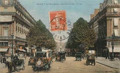 """/ CPA FRANCE 75005 """"Paris, le boulevard des Capucines"""""""