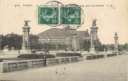 "/ CPA FRANCE 75007 ""Paris, le grand Palais"""