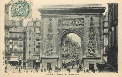 "/ CPA FRANCE 75009 ""Paris, porte Saint Denis"""