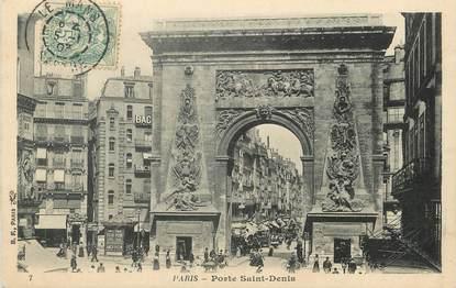 """/ CPA FRANCE 75009 """"Paris, porte Saint Denis"""""""
