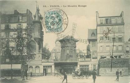 """/ CPA FRANCE 75018 """"Paris, le moulin rouge"""""""