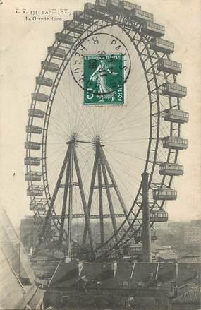 """/ CPA FRANCE 75015 """"Paris, la grande roue"""""""