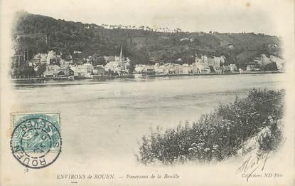 """/ CPA FRANCE 76 """"Environs de Rouen, panorama de la Bouille"""""""