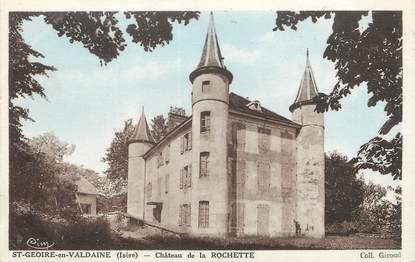 """/ CPA FRANCE 38 """"Saint Geoire en Valdaine, château de la Rochette"""""""
