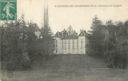 """/ CPA FRANCE 38 """"Saint Pierre de Chandieu, château de Laigue"""""""