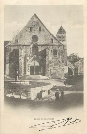 """/ CPA FRANCE 38 """"Eglise de Saint Chef"""""""
