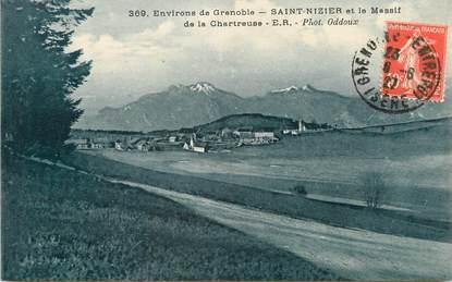 """/ CPA FRANCE 38 """"Saint Nizier et le massif de la Chartreuse"""""""