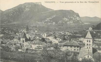 """/ CPA FRANCE 38 """"Voreppe, vue générale et le bac de l'Echaillon"""""""