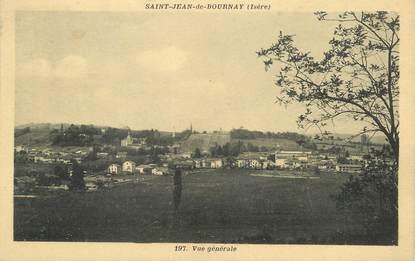 """/ CPA FRANCE 38 """"Saint Jean de Bournay, vue générale"""""""