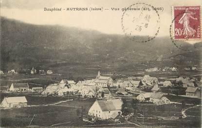 """/ CPA FRANCE 38 """"Autans, vue générale"""""""